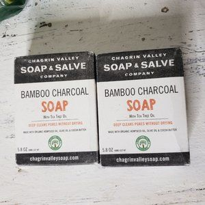 2 Chagrin Valley BAMBOO CHARCOAL soap